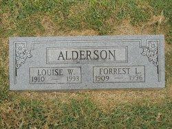 Louise W Alderson
