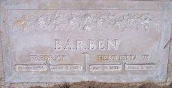 Henrietta <i>Watkins</i> Barben