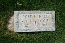 Rose Nadine <i>Spelts</i> Hall