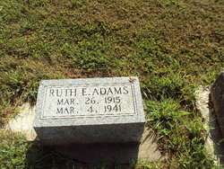 Ruth E <i>Shaw</i> Adams
