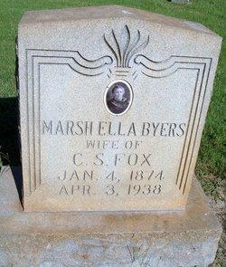 Marsha Ella <i>Byers</i> Fox