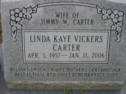 Linda Kaye <i>Vickers</i> Carter