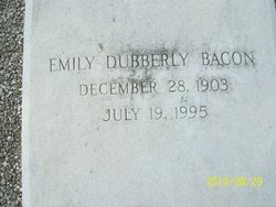 Emily <i>Dubberly</i> Bacon