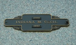 Indiana M Cecil