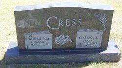 Beulah May <i>Franklin</i> Cress