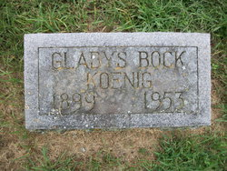 Clara Gladys <i>Bock</i> Koenig