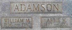 Abbie M. <i>Reynolds</i> Adamson