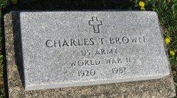 Charles T Brown