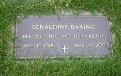 Geraldine <i>Buchanan</i> Baring