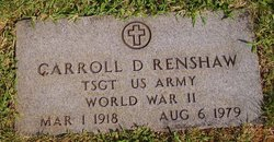Rev Carroll D. Renshaw