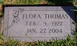 Floretta Flora <i>McGill</i> Thomas