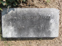 Lois <i>Buskey</i> Baker