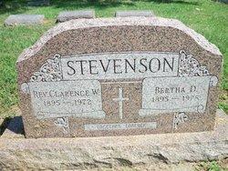 Rev Clarence W Stevenson