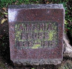 Anna Maria <i>Eberle</i> Bross