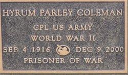 Hyrum Parley Coleman
