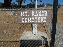 Mountain Ranch Cemetery