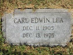 Carl Edwin Lea