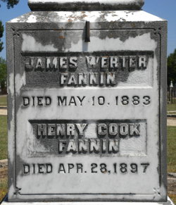 Capt James Werter Fannin
