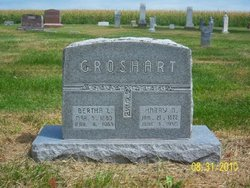 Bertha Lenora <i>O'Dell</i> Groshart