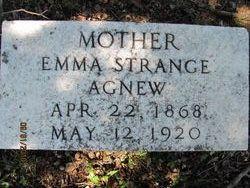 Emma Ada <i>Strange</i> Agnew