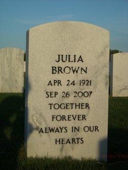 Julia <i>Carlton</i> Brown
