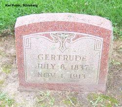 Gertrude <i>Born</i> Ammann
