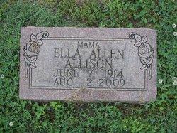 Carrie Ella <i>Allen</i> Allison