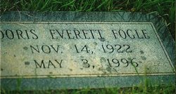 Doris <i>Everett</i> Fogle