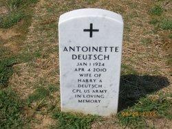 Antoinette <i>George</i> Deutsch