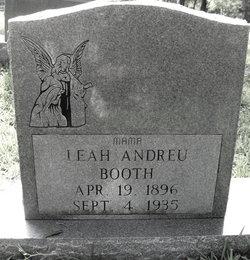 Leah <i>Andreu</i> Booth