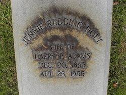 Jennie <i>Holt</i> Adams