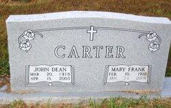 Mary Frank <i>Marsh</i> Carter