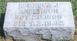 Rebecca Jane <i>Folck</i> Anderson