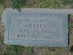Bessie Florence <i>Anderson</i> Awtrey/Autrey