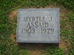 Myrtle <i>Jennings</i> Assaid