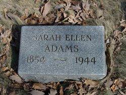 Sarah Ellen Adams