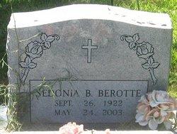 Sedonia B <i>Walters</i> Berotte