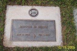 Minnie Myrtle <i>Follett</i> Burns