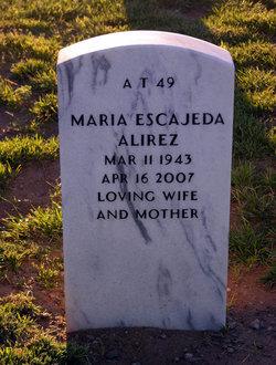 Maria Estela <i>Escajeda</i> Alirez