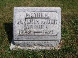 Cevina S. <i>Rader</i> Archer