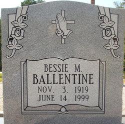 Bessie Marian <i>Broome</i> Ballentine