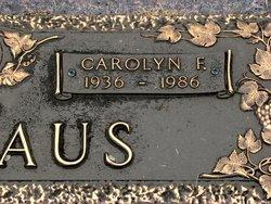 Carolyn F. <i>Barkhurst</i> Nicklaus