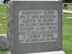 Electa M. <i>Woolsey</i> Clark