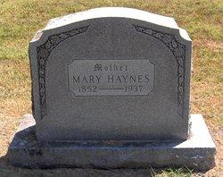 Mary Evalina <i>Nelson</i> Haynes