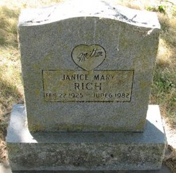 Janice Mary Rich