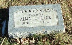 Alma L Frank