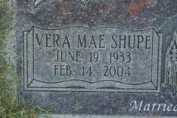Vera Mae <i>Shupe</i> Cooke