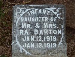 Infant Daughter Barton