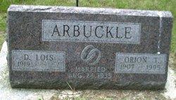 Dorothy Lois <i>Agnew</i> Arbuckle