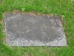 Justina Carolina <i>Wendland</i> Boelter